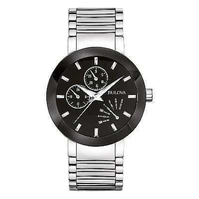 Relógio Bulova Quartz 96c105 masculino