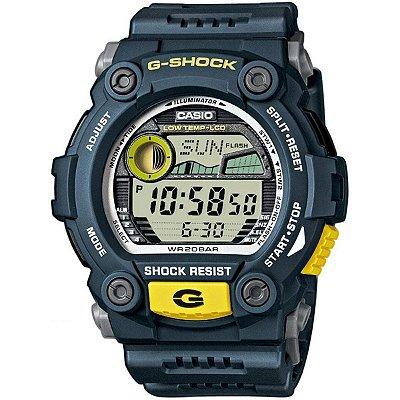 Relógio Casio G-shock Tábua De Maré G-7900-2dr RESCUE / RESGATE