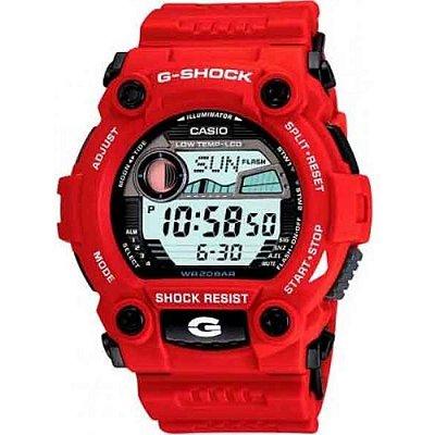 Relógio Casio G-shock Tábua De Maré G-7900a-4dr RESCUE / RESGATE