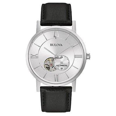 Relógio Bulova Clipper automático 96a237 masculino