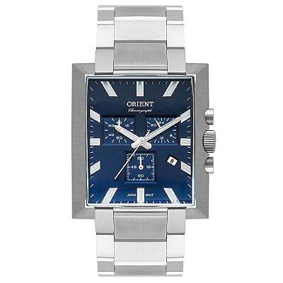 Relógio Orient Unique Masculino Cronógrafo Gbssc011 Prata ** LANÇAMENTO**