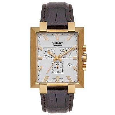Relógio Orient Unique Masculino Cronógrafo Ggscc004 Dourado ** LANÇAMENTO**
