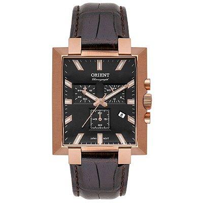 Relógio Orient Unique Masculino Cronógrafo Grscc002 Rosegold ** LANÇAMENTO**