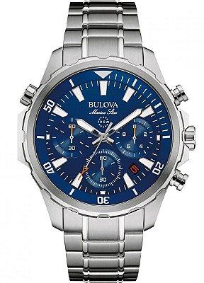 Relógio Bulova Marine Star Quartz Masculino 96B256