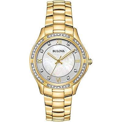 Relógio Bulova Swarovski 98L256 feminino