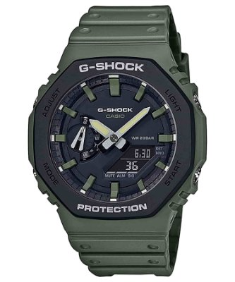 Relogio Casio G-shock Carbon Core Guard Ga-2110su-3adr OAK verde