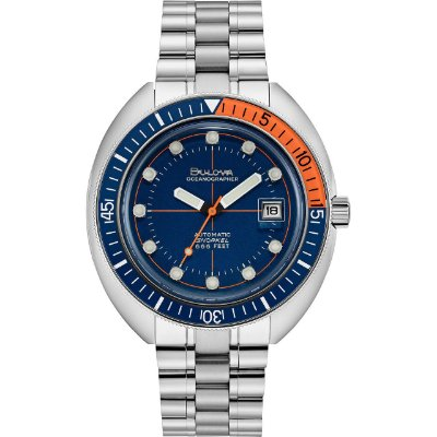 Relógio Bulova de Mergulho Oceangrapher automático 96b321 Devil Diver masculino