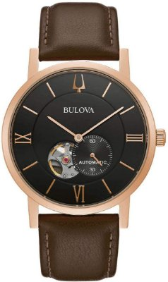 Relógio Bulova Clipper automático 97a155 masculino