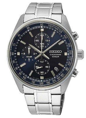 Relógio Seiko cronograph QUARTZ SSB377B1 masculino
