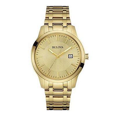 Relógio Bulova Classic Quartz Masculino 97b145 / Wb22444g