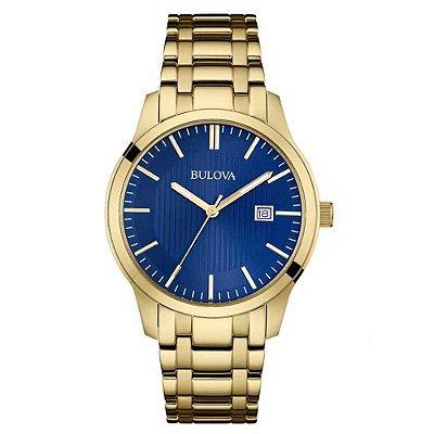 Relógio Bulova Classic Quartz Masculino 97b156 / Wb22444Z