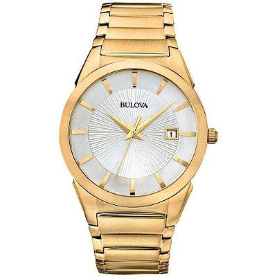 Relógio Bulova Classic Quartz Masculino 97b108 / Wb21605h
