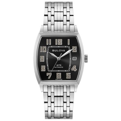 Relógio Joseph Bulova Collection Bankers automático 96b330 masculino Edition Limited 350