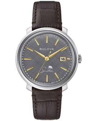 Relógio Bulova Sinatra The Best is Yet to Come Corda Manual 96b345 masculino