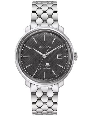 Relógio Bulova Sinatra The Best is Yet to Come Corda Manual 96b346 masculino