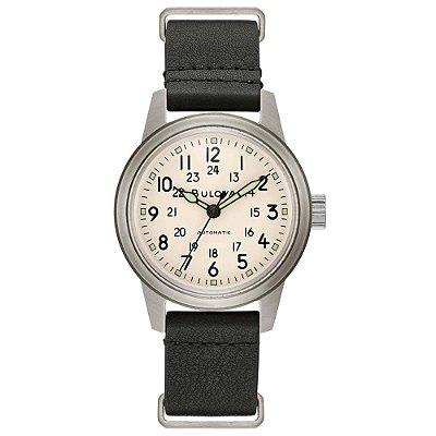 Relógio Bulova Militar Hack automático 96a246 masculino