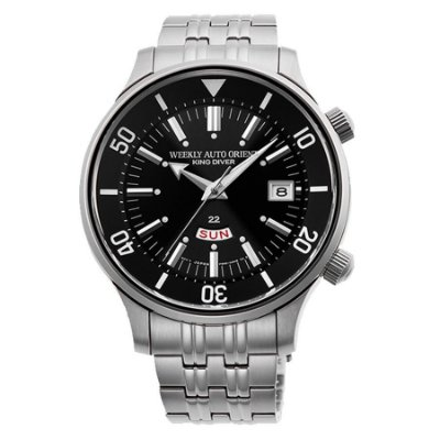 Relogio Orient KING DIVER REVIVAL RA-AA0D01B1HB Automático masculino