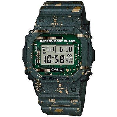 Relogio Casio G-SHOCK DWE-5600CC-3DR Circuit Board Camouflage