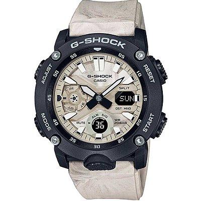 Relogio Casio G-shock Ga-2000wm-1adr Utility Wavy Marble