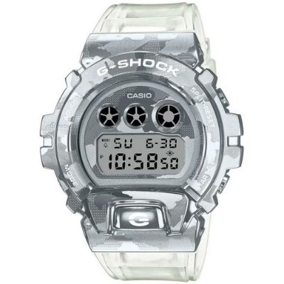 Relogio Casio G-SHOCK Gm-6900scm-1dr Metal Covered Skeleton