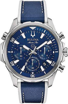 Relógio Bulova Marine Star Quartz Masculino 96b287