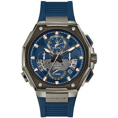Relógio Bulova 98B357 Precisionist X  Masculino 300 metros
