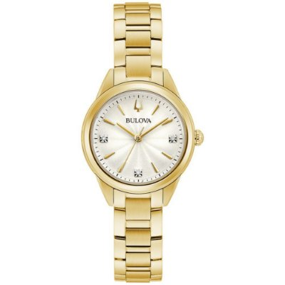 Relógio Bulova Classic Sutton Diamond 97p150 feminino