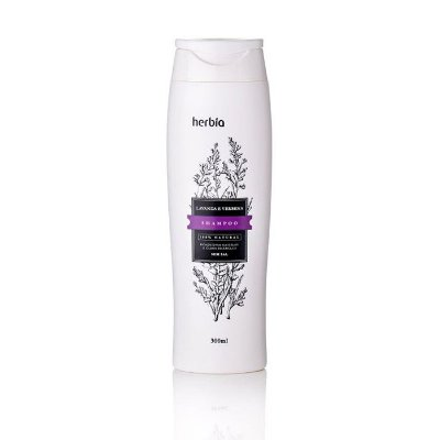 Shampoo Orgânico Lavanda e Verbena Branca 300ml – Herbia