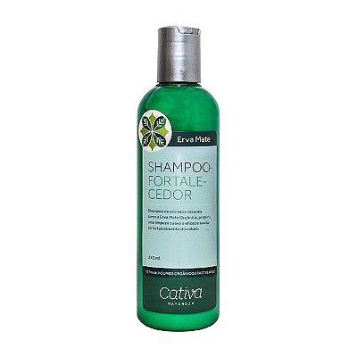 Shampoo Fortalecedor Erva Mate com Guanxuma e Gengibre 240ml - Cativa Natureza