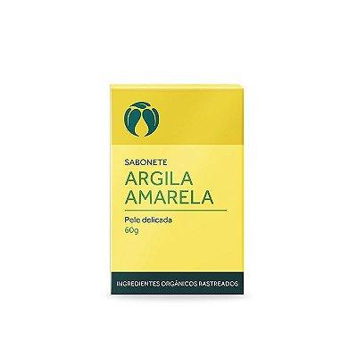 Sabonete Argila Amarela para Pele Delicada 60g- Cativa Natureza