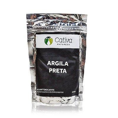 Argila Preta 100g - Cativa