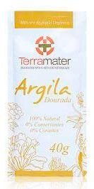 Argila Terramater Orgânica e Certificada - Dourada - 40g