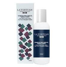 Shampoo para Cabelos, Barba e Corpo La Vertuan 240ml