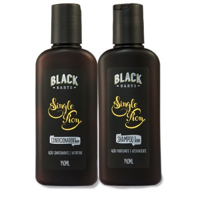 Shampoo para Barba + Condicionador para Barba Black Barts® Single Ron