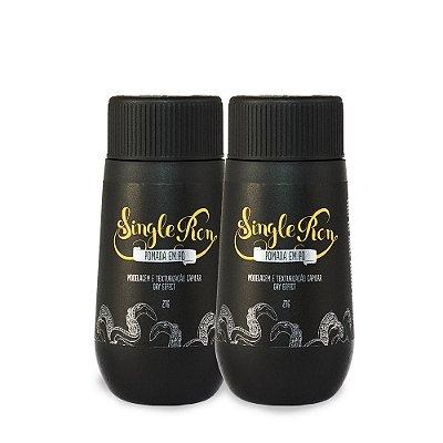 Pomadas em Pó para Modelagem e Texturização Capilar Dry Effect Black Barts® Single Ron 21g