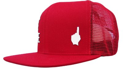 Boné Snapback Feel The Game Red