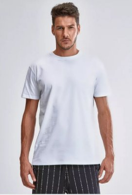 CAMISETA VISUALS WHITE