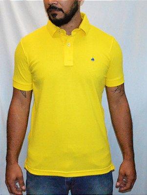 Camisa gola polo 1ST Level Básica- Amarela