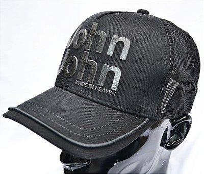 Bone John John Heaven - Preto/Azul