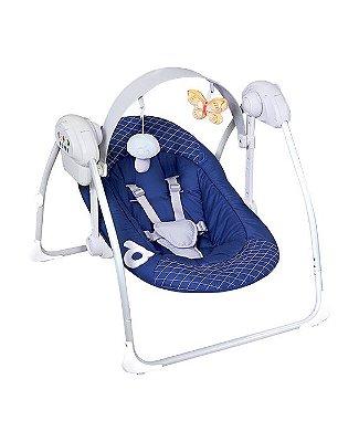 Cadeira de Balanço Eletrônica Dzieco - Azul