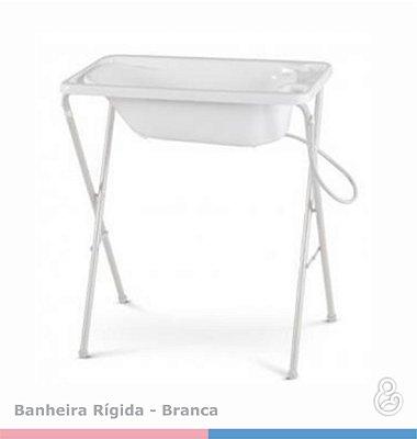 Suporte para Banheira Rígida - Galzerano - Branco