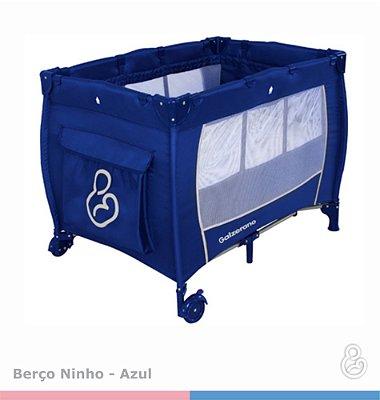 Berço Ninho II Galzerano - Azul