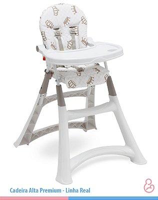Cadeira Alta Premium - Galzerano - Real Luxo (Coroas)