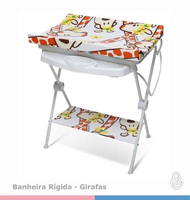 Banheira Luxo com Trocador - Galzerano - Girafas