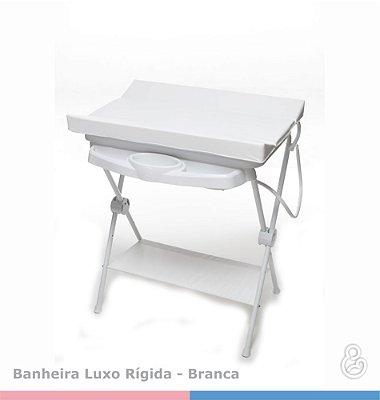 Banheira Luxo com Trocador - Galzerano - Branca