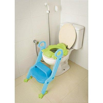 Redutor De Assento para Vaso Com Escada Menino - Multikids Baby - BB051