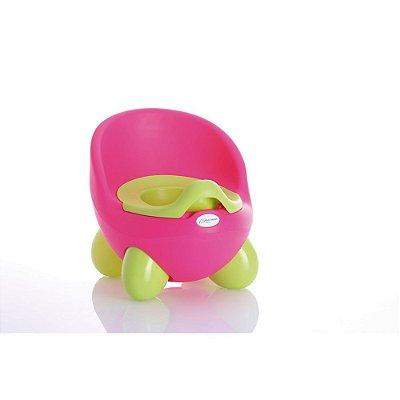 Troninho Infantil 2 Em 1 Learn Style Rosa - Multikids Baby - BB193