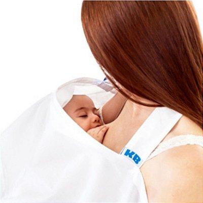 Capa para Amamentação Branca - KaBaby - 12001B