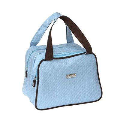 Bolsa Maternidade Frasqueira Quadrada Masculina Azul - Pimpolho - 7678