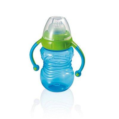 Copo de Treinamento Learn Azul Antivazamento - Multikids Baby - BB019